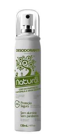 Desodorante Natural Camomila Erva C. 120ml-Orgânico Natural