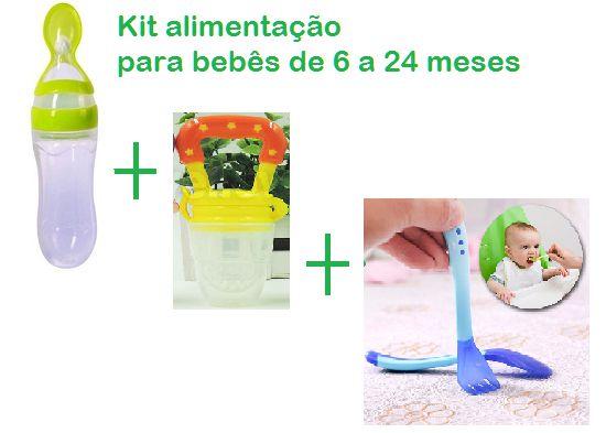 Kit alimentação para bebês de 6 a 24 meses