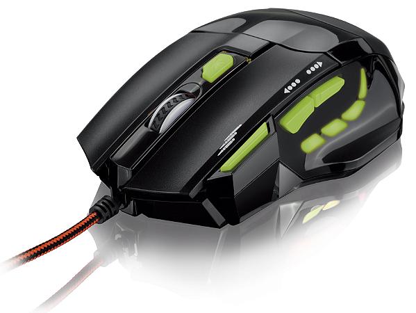 Mouse Óptico Xgamer Fire Button USB, 7 Botões, 2400 DPI Multilaser - MO208