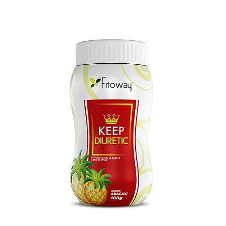 Keep Diuretic 100gr - Sabor Abacaxi (Pó Para Bebida Funcional )