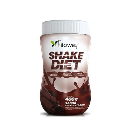 Shake Diet Fitoway 400gr - Sabor Chocolate