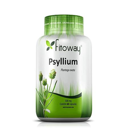 PSYLLIUM FITOWAY 500mg - 60 CÁPS
