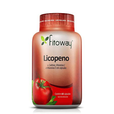Licopeno 10mg + Selênio + Vitaminas A E E - 60 Cáps