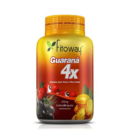 Guaraná 4x (Guaraná + Açaí + Cacau + Mana Cubiu) - 60 CÁPS