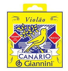Encordoamento Nylon Giannini Canário GENWB Com Bolinha