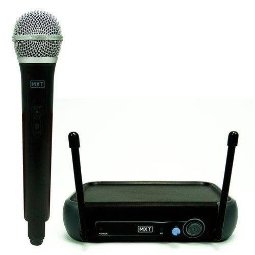 Microfone MXT UHF 202