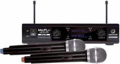 Microfone Waldman UC 201 FX