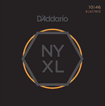 Encordoamento para guitarra D'ADDARIO NYXL 10/46