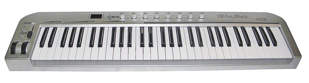 Teclado controlador Key Black KBC 61