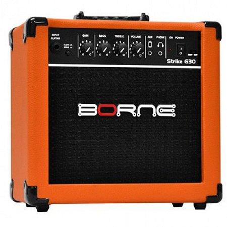 Amplificador Borne Strike G30 Laranja