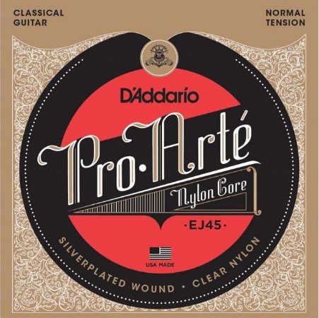 Encordoamento para violão nylon D'Addario EJ45 Pro Arté