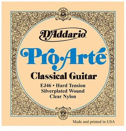 Encordoamento para violão nylon D'Addario EJ46 Pro Arté