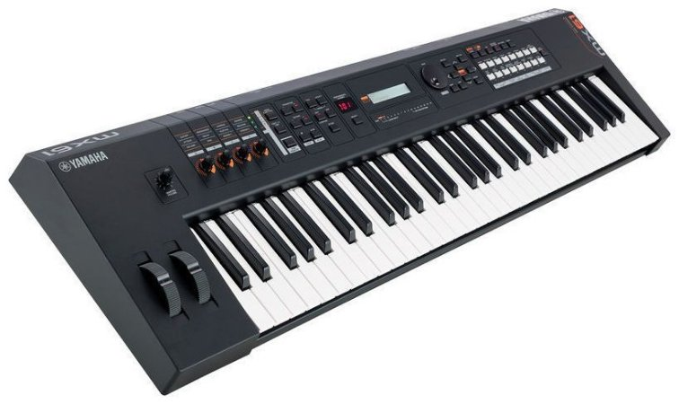 Teclado sintetizador Yamaha MX 61 BK