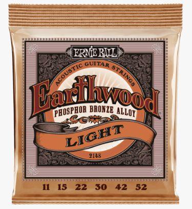 Encordoamento para violão aço Ernie Ball Earthwood 0.11 SOB CONSULTA DE PREÇO