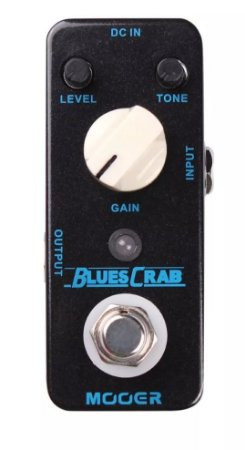 Pedal Mooer Blues Crab Over Drive