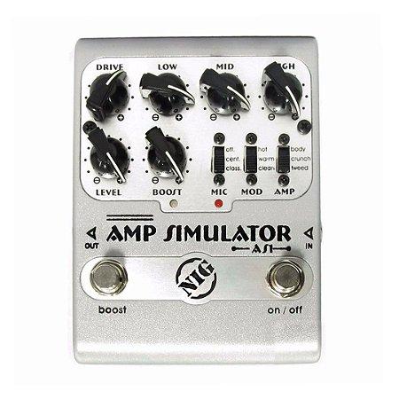 Pedal Para Guitarra Nig Amp Simulator  AS 1