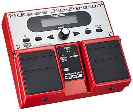 Pedal processador Para Voz Boss VE-20 Performer