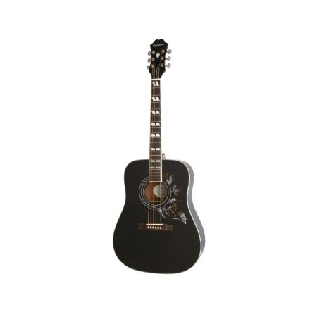 Violão Epiphone Hummingbird Pro Black