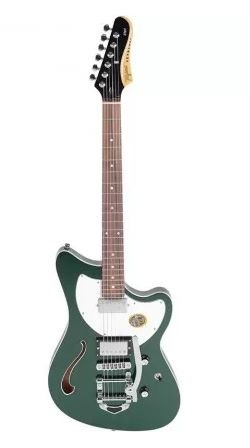 Guitarra Tagima Jet Blues Deluxe Verde Metálico