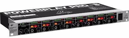 Amplificador Para Fones Behringer Power Play de 8 Canais PRO -8 HA 8000