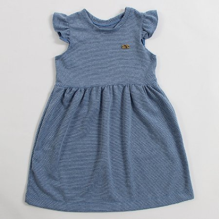 Vestido Infantil Azul YB