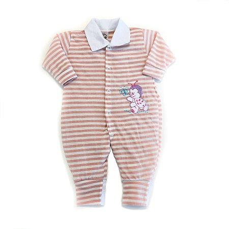 Macacão Bebê Rosé