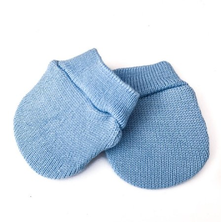 Luva para Bebê Azul