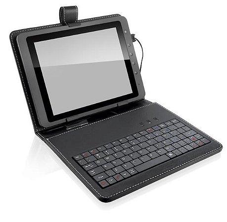 TECLADO MINI SLIM USB CAPA TABLET 10.1