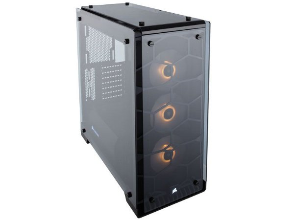 GABINETE GAMER CORSAIR CC-9011098-WW CRYSTAL SERIES 570X RGB VIDRO TEMPERADO ATX