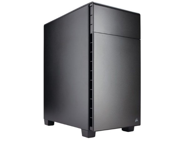 GABINETE GAMER CORSAIR CC-9011080-WW CARBIDE SERIES 600Q QUIET PRETO