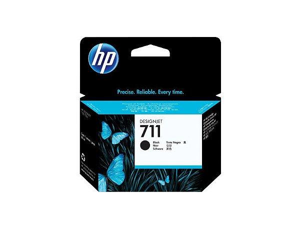 Cartucho de tinta HP 711 Preto PLUK 80ml - CZ133AB