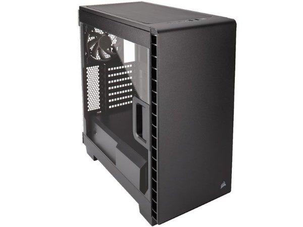 GABINETE GAMER CORSAIR CC-9011081-WW CARBIDE SERIES 400C C/ ACRILICO LATERAL PRETO