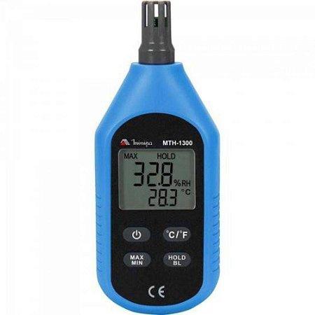 Termo-Higrômetro  mini ambiental / Linha econômica - Minipa MTH-1300