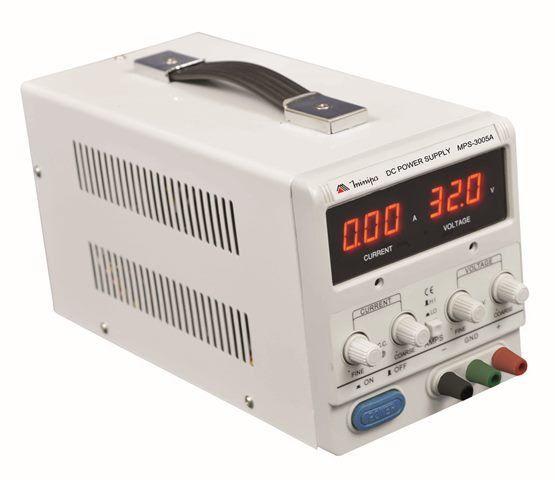 Fonte Alimentação DC Simples - Minipa MPS-3005A