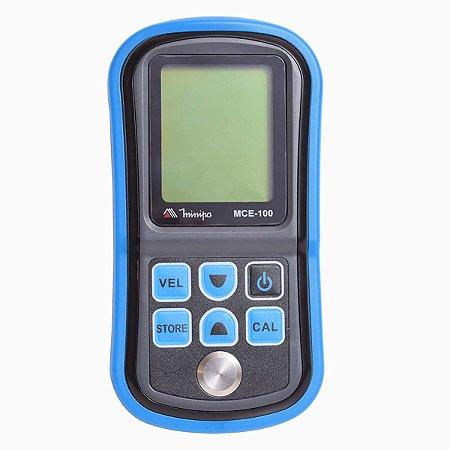 Medidor de Espessura memoriza até 12 materiais distintos - Minipa MCE-100