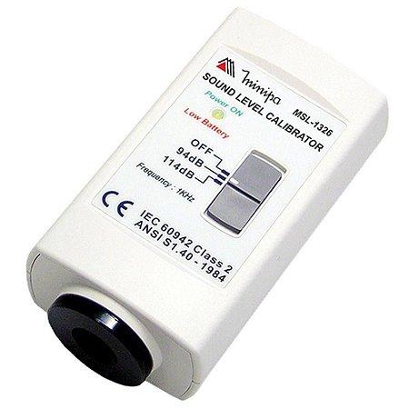 Calibrador para MSL-1325/1351C/1352C/1355/ 1360 - Minipa MSL-1326