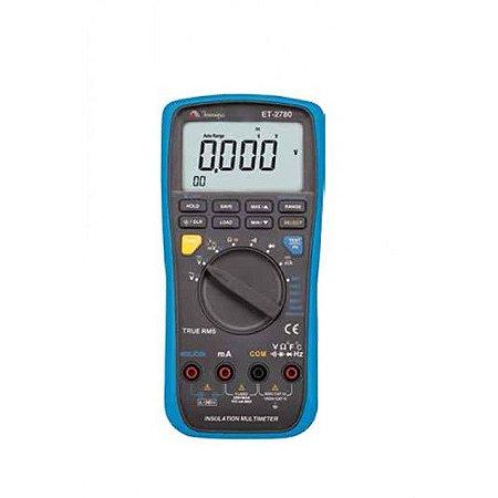 Multímetro /Megômetro Digital - Minipa ET-2780
