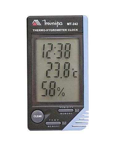 Relógio Termo-Higrômetro Int. - Minipa MT-242