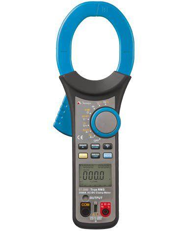 Alicate Amperímetro 2500A AC /CAT IV /True RMS / Função Inrush (Super Leve!) - Minipa ET-3990