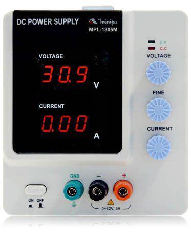Fonte Digital 32V/5A - Minipa MPL-1305M