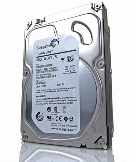 HD SEAGATE BARRACUDA 3 TB SATA ST3000DM001