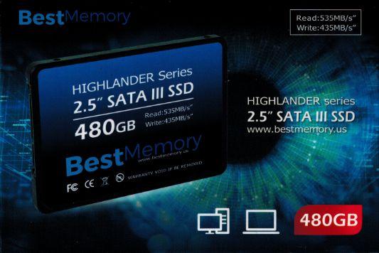HD SSD 480GB - BTSDA-480G - Best Memory
