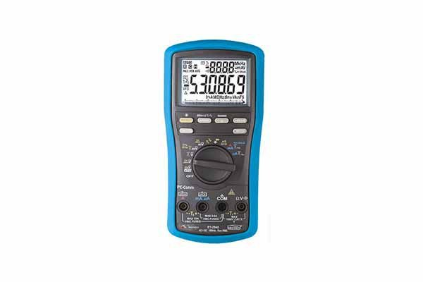 Multímetro Digital 54/5 D./True RMS com Interface USB cat. IV/cap/freq./temp. - MINIPA ET-2940