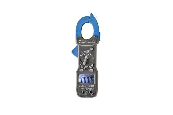 Alicate Amperímetro Digital 6.000 contagens/ CAT IV 600V/  True RMS/ Sequência de fase/ NCV/ 600 ACA - MINIPA HDC3708