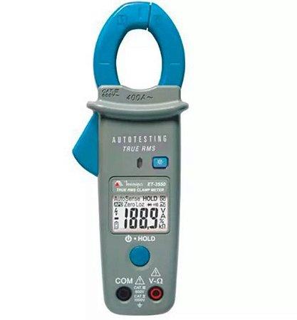 Alicate Amperímetro Digital / Auto teste / Tensão sem contato NCV