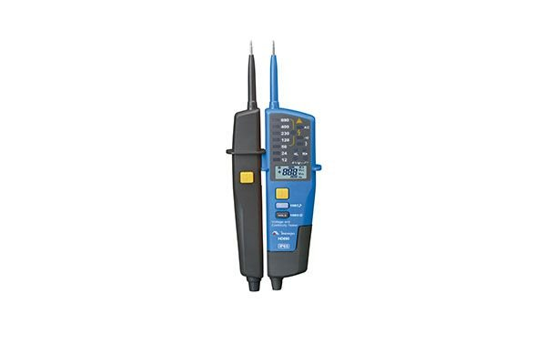 Multiteste Elétrico / CAT IV 600V / Medidas de Tensão AC/DC / Fasímetro / Frequência / Lanterna / IP 65 - MINIPA HD690
