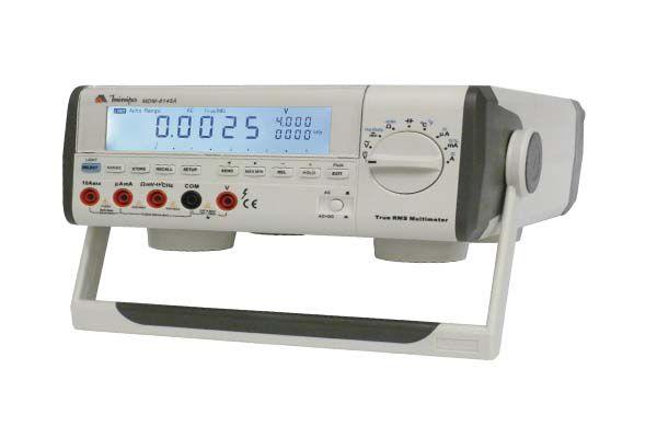 Multímetro de Bancada 40000 contagens / Display Triplo/Barra Gráfica / Autorange / True RMS - Minipa MDM-8145A