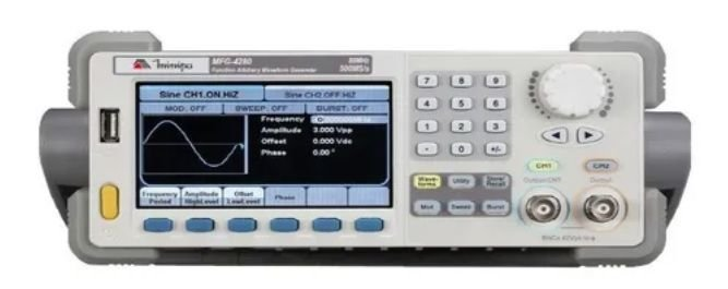 Gerador de Funções 80 MHz - Minipa MFG-4280