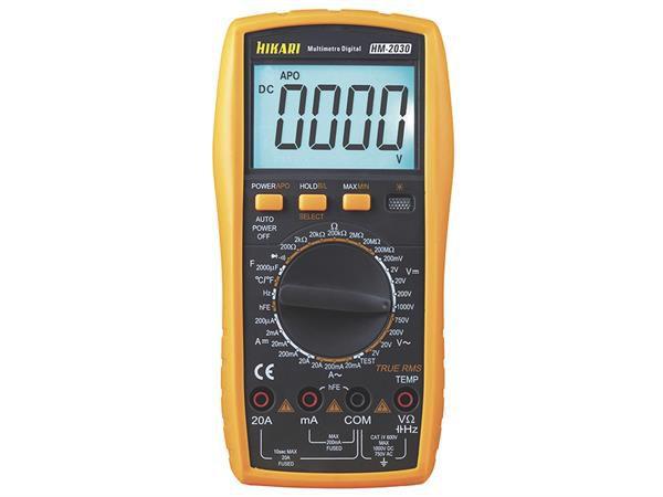 Multimetro Digital Hikari HM-2030