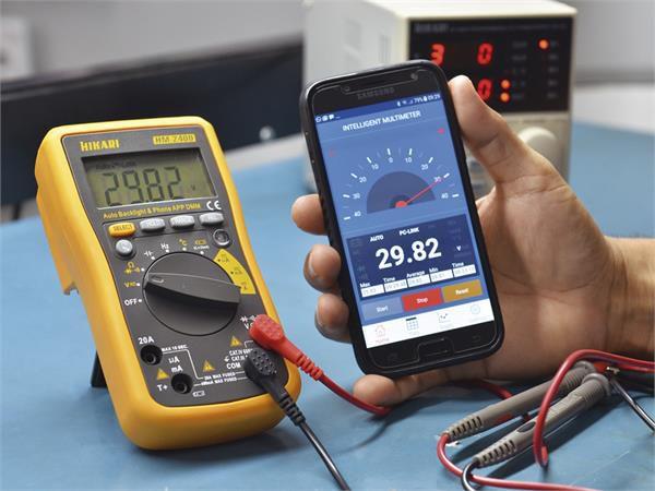 Multímetro Digital c/ App Hikari HM-2400